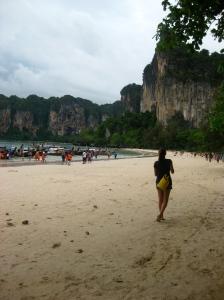 Yellow Drybag in Krabi