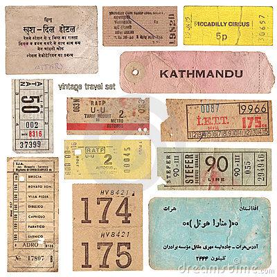 Old Fashion Ticket Despinser