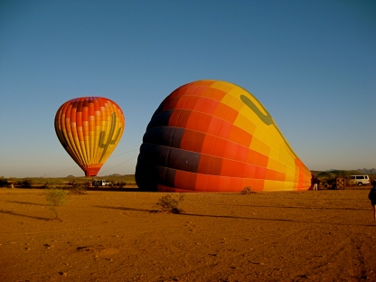 Hot Air Balloon ride in Phoenix