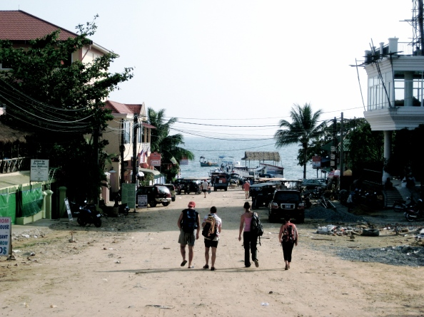 Road to the Beach, Sihanoukville