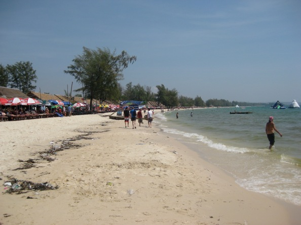 The beach, Sihanoukville