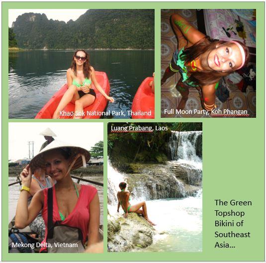 Green Bikini Montage