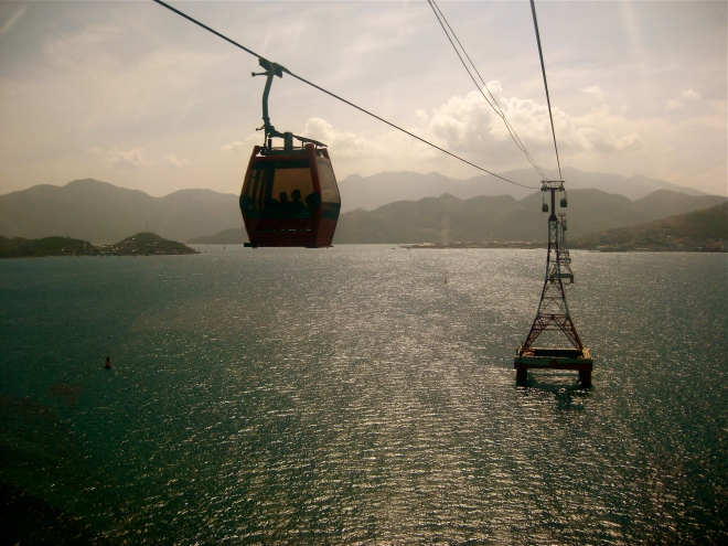 Cable Car to Vinpearl Land, Nha Trang