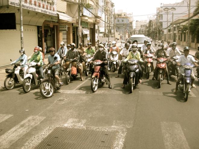 Motos, Ho Chi Minh City