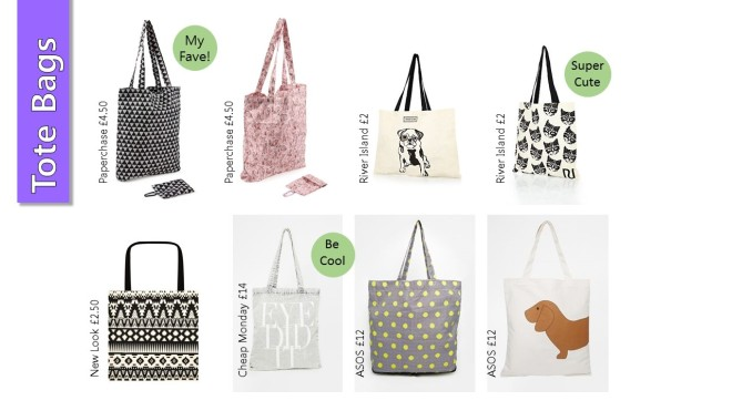 Shoppers Totes Bags