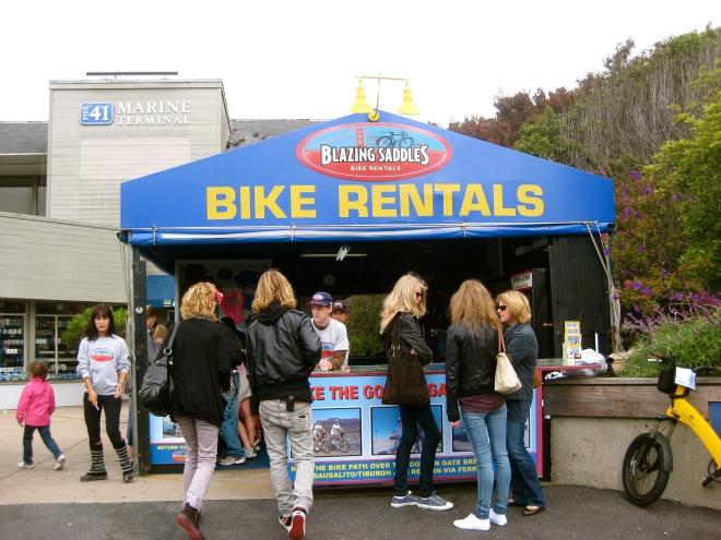 Bike Rentals at Pier 39