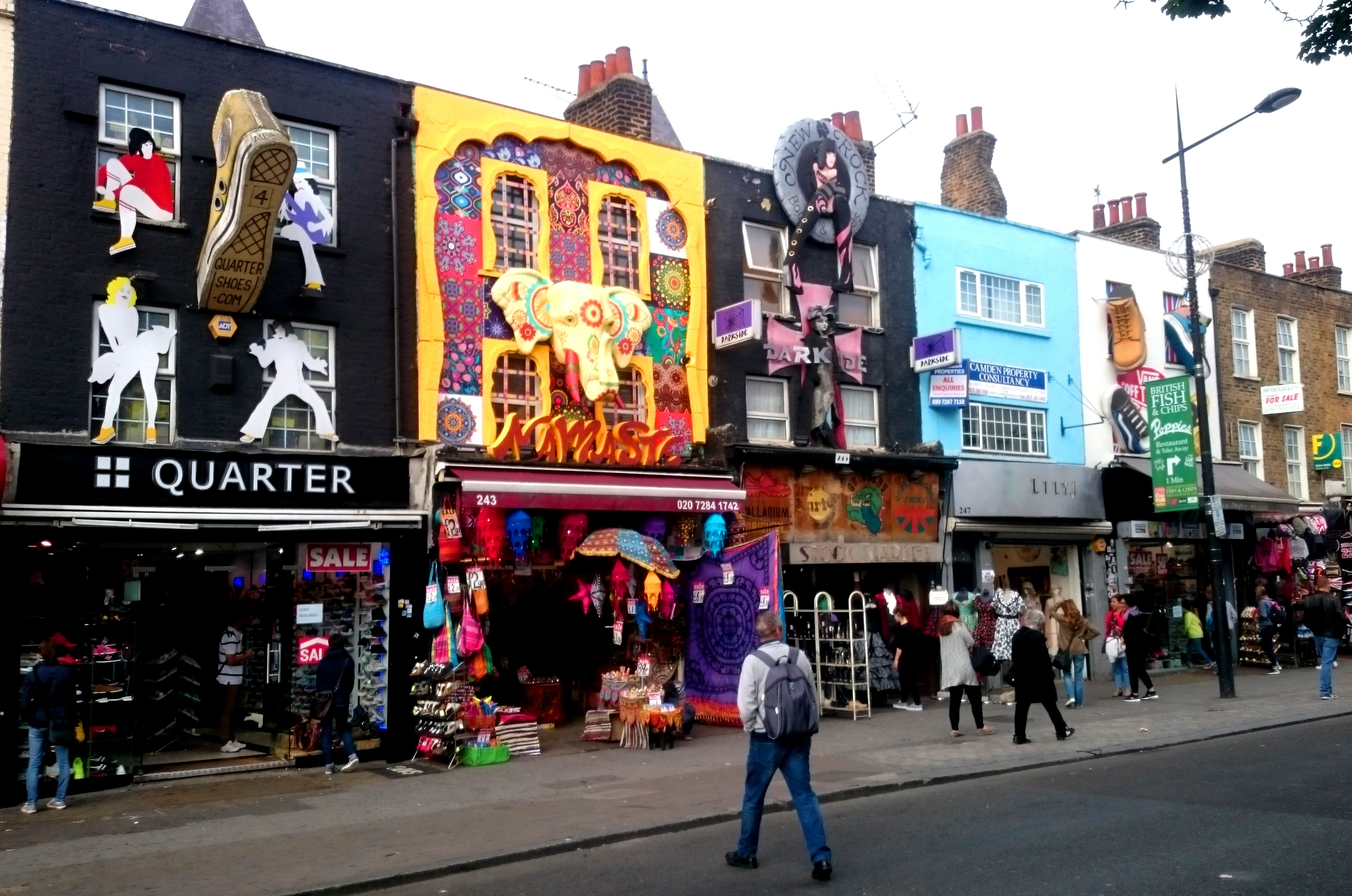 The rediscovery of camden town london for The camden