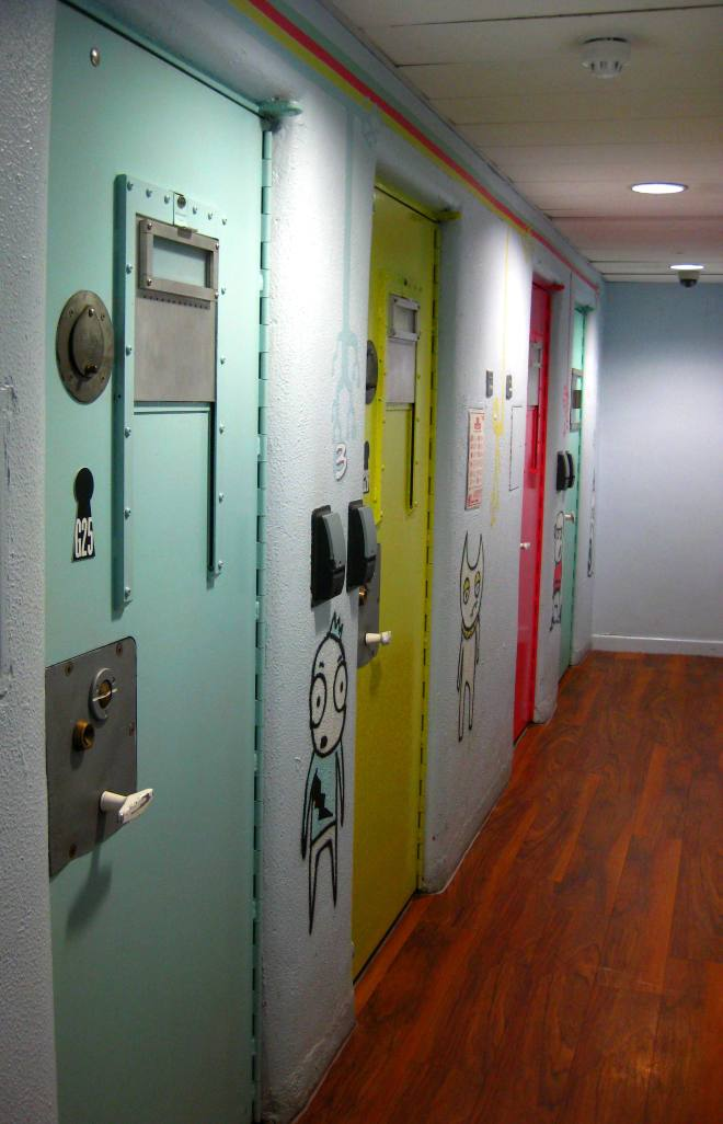 Prison Cells at Clink78