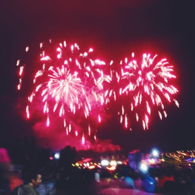 Bestival Fireworks