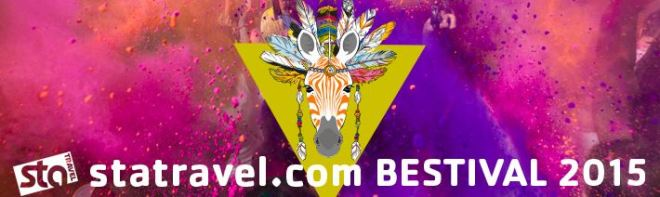 STA Travel at Bestival 2015