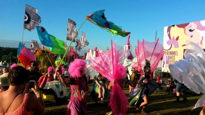 Bestival Parades
